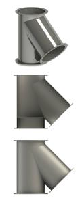teuri - tub telescopic - fitinguri - țevi, coturi, opritoare-6